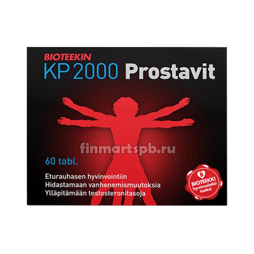 Витамины для мужчин Bioteeken KP 2000 prostavit 60 таб.