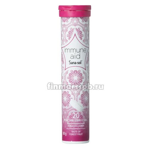 Шипучие витамины Sana-Sol Immune aid (Витамин D), 20 шт