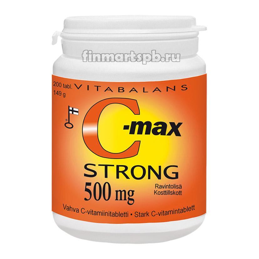 Vitabalans C-max Strong 500 mg