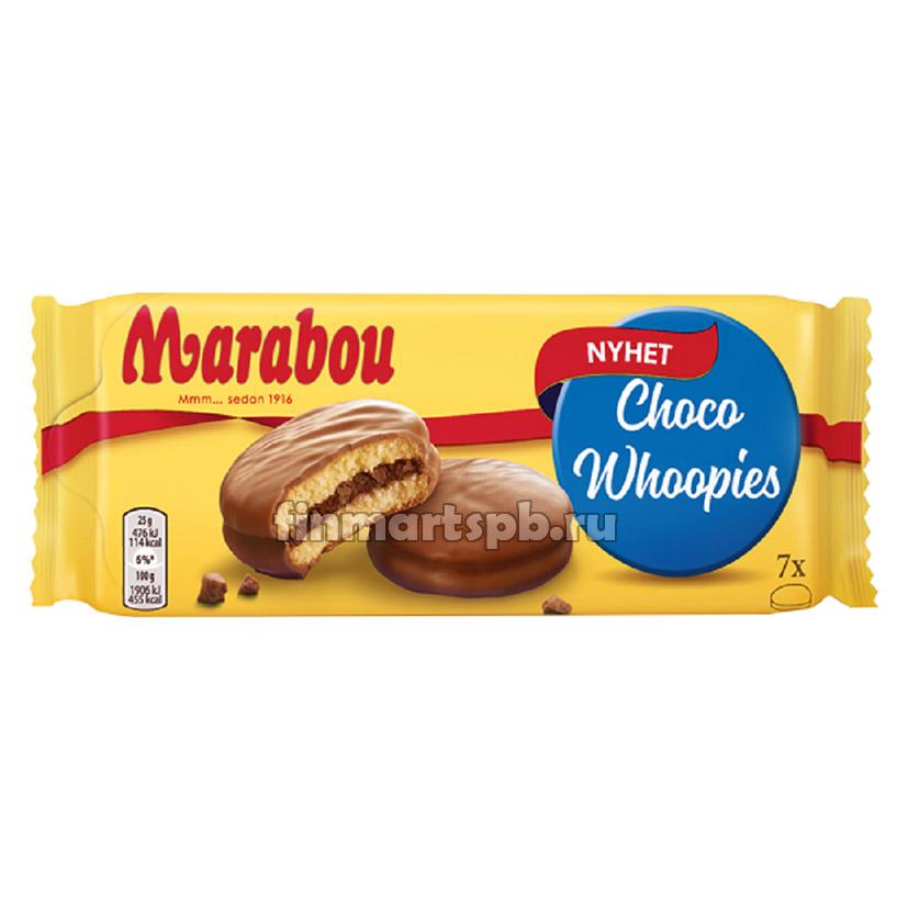 Печенье бисквитное Marabou Choco Whoopies