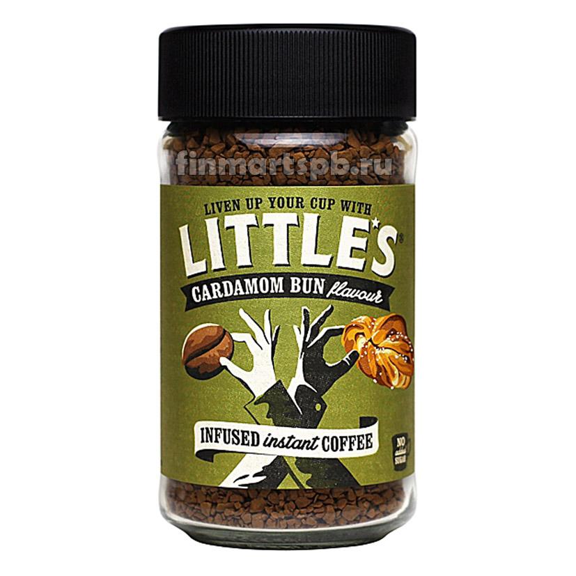 Растворимый кофе премиум Little's Cardamom Bun - 50 гр.