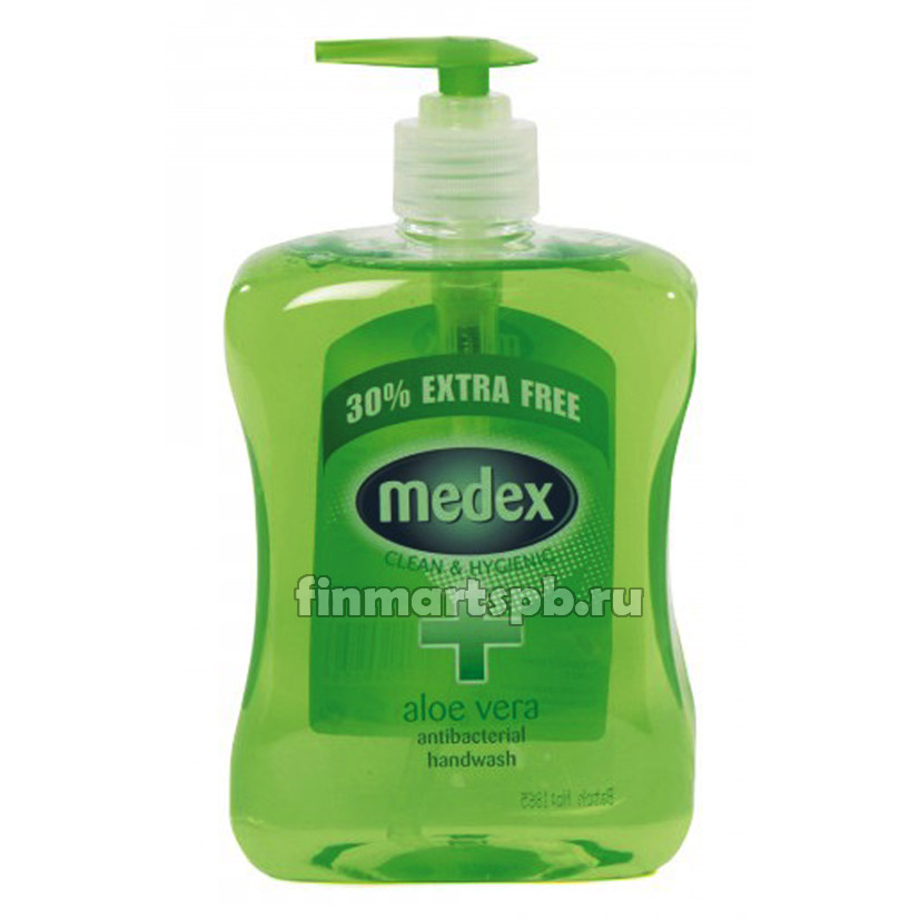 Жидкое мыло Medex clean&hygenic aloe vera .
