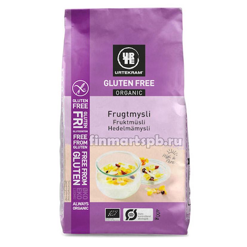 Мюсли с фруктами Urtekram frugtmysli (без глютена)