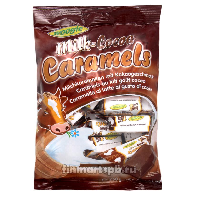 Конфеты коровка с какао Woogie Milk cocoa