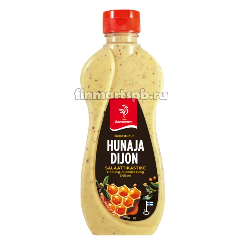 Соус Saarioinen Hunaja Dijon (мёд - горчица), 345 мл