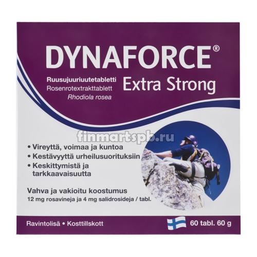 Эктракт родиолы розовой Dynaforce Extra Strong - 60 шт.
