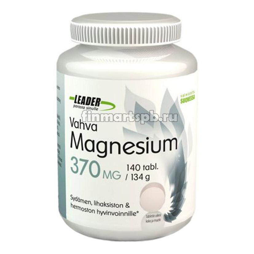 Витамины с магнием Leader Vahva Magnesium