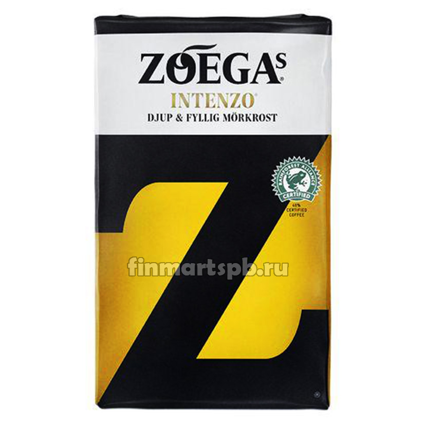 Кофе молотый Zoegas Intenzo (тёмная обжарка)