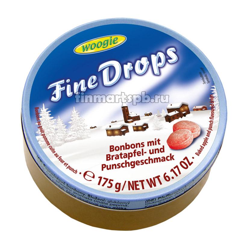 Леденцы Woogie Fine Drops (со вкусом печеного яблока и пунша)