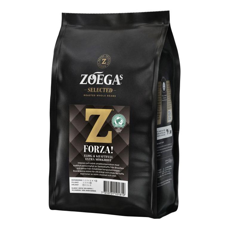 Кофе в зёрнах Zoegas Forza, 450 гр.