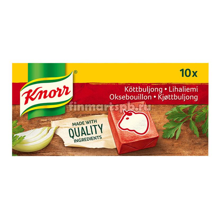 Приправа для супа Knorr Lihaliemi (мясной бульон), 10 шт.