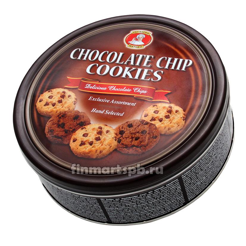 Печенье с кусочками шоколада Chocolate chip Cookies