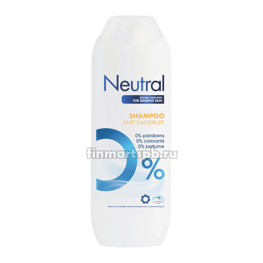 Шампунь против перхоти Neutral anti-dandurf shampoo, 250 мл.