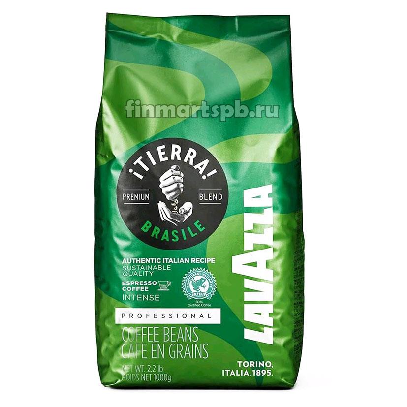 Кофе в зёрнах LavAzza Tierra Brasile