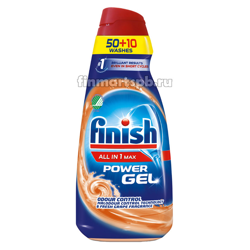 Гель для ПММ Finish Power Gel All in Max - 900 мл.