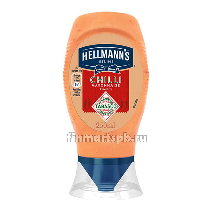 Майонез с чили Hellmann`s  Chili mayonnaise