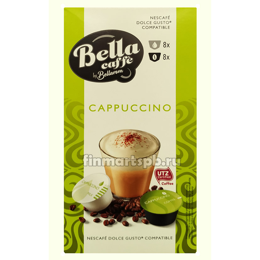 Капсулы Dolce Gusto Bella caffe Cappuccino