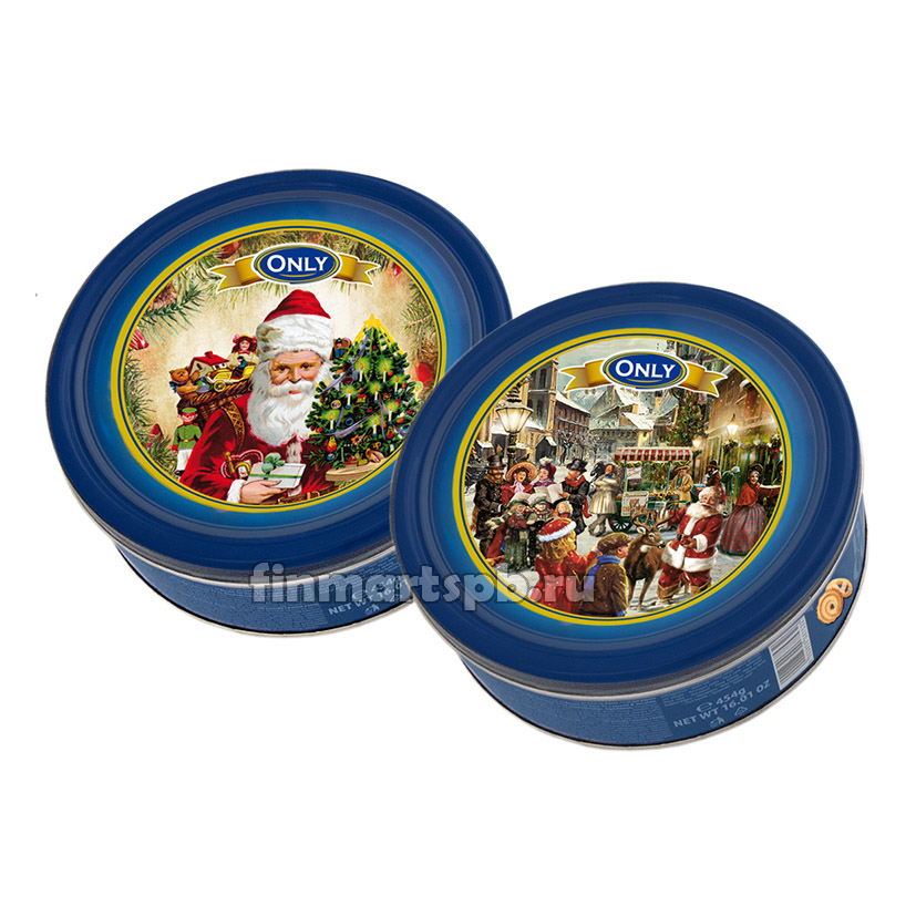 Печенье песочное Only Butter cookies Christmas