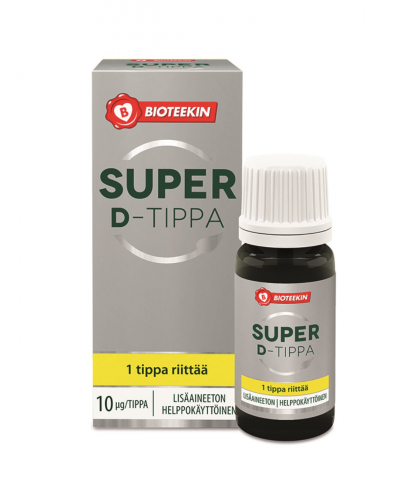 Витамин Д в каплях Bioteekin Super D-tippa