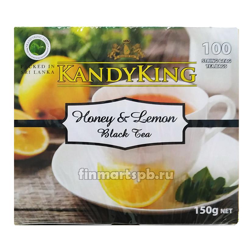 Чёрный чай с мёдом и лемоном Kandyking Honey&Lemon Black tea