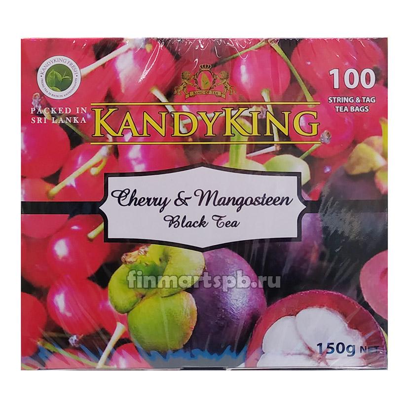 Чёрный чай с вишней и мангостином Kandyking Cherry&Manosteen Black tea