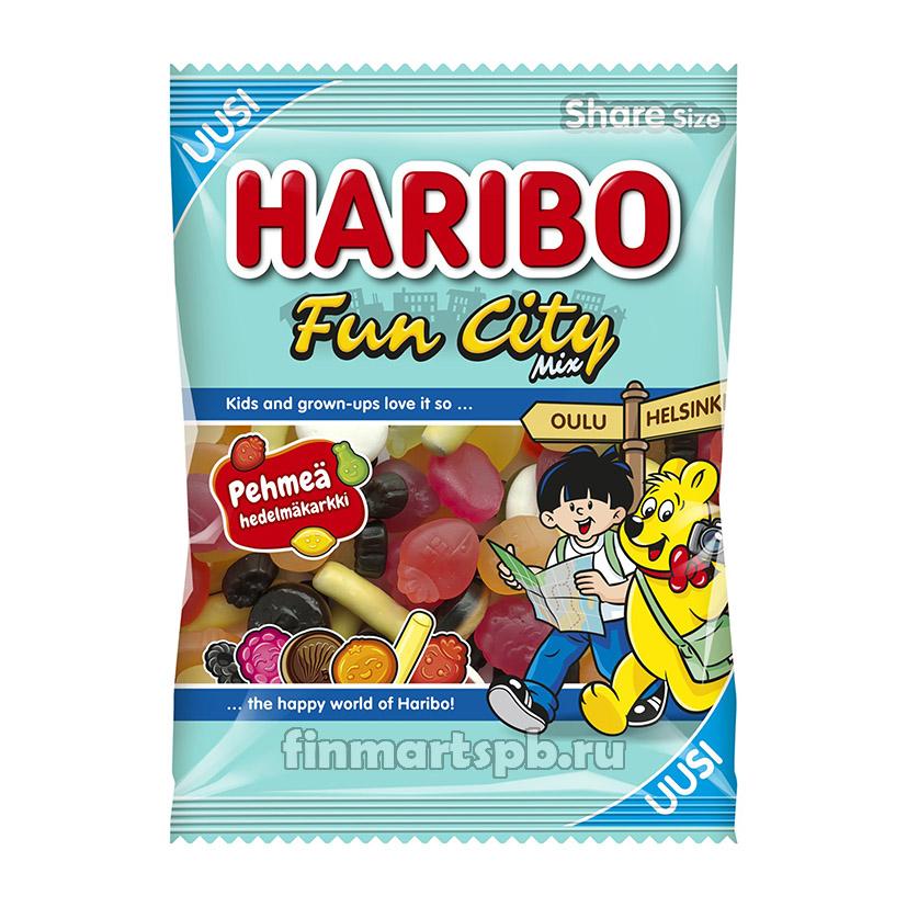 Жевательные конфеты Haribo Fun city