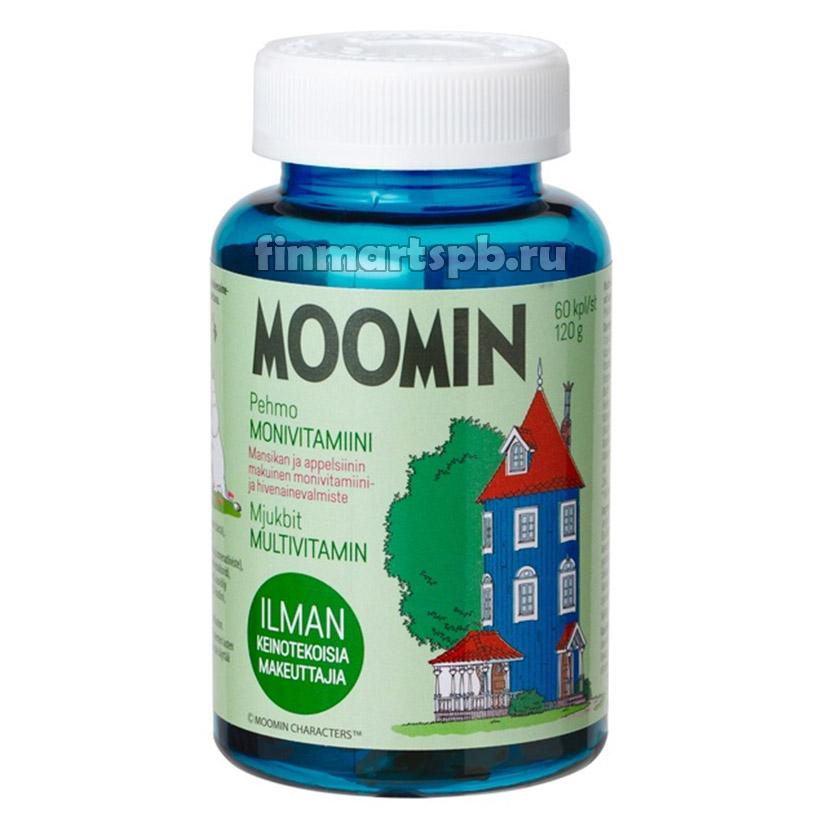 Поливитамины для детей Moomin Pehmo Monivitamiini