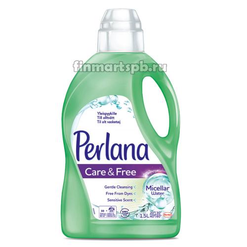 Гель для стирки Perlana Care&Free (с мицилярной водолй)