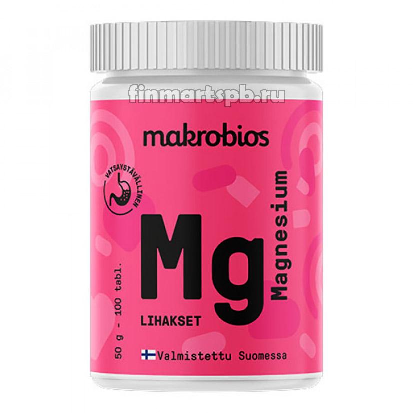 Витамины Macrobios magnesium (магний)