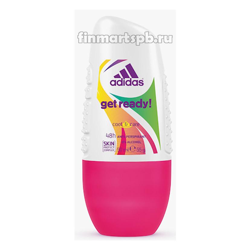 Антиперспирант для женщин Adidas Get Ready , 50 мл.