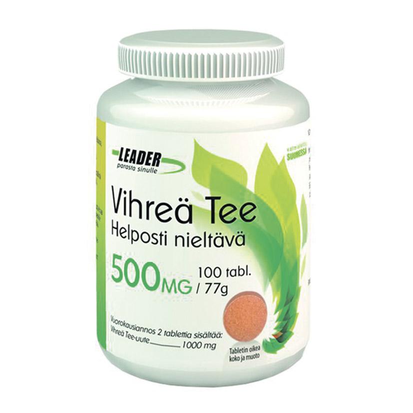 Экстракт зеленого чая Leader Vihrea tee 500 мг (для похудения)
