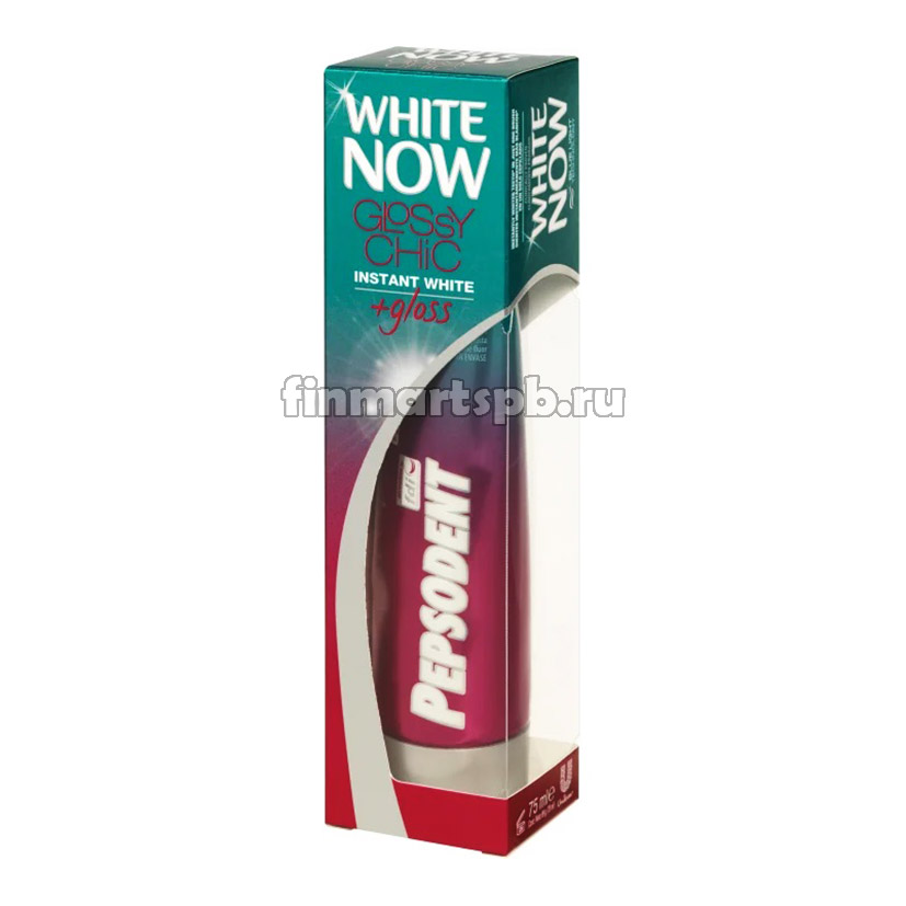 Зубная паста Pepsodent White Now Glossy chic
