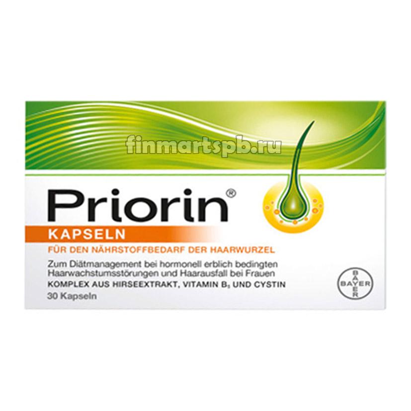 Витамины от выпадения волос Priorin Kapseln (Приорин капсулы)
