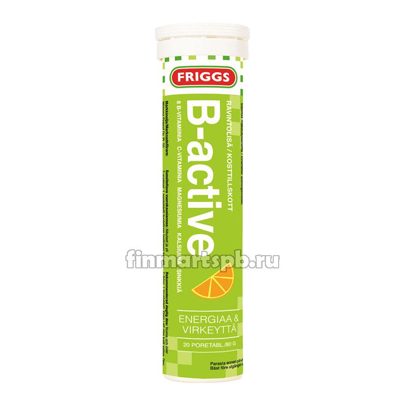 Friggs B-active шипучие витамины , 20 шт.