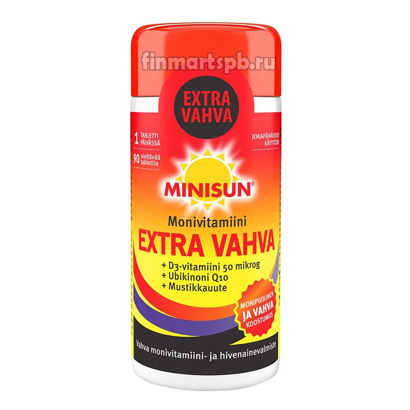 Поливитамины Minisun Monivitamiini Extra Vahva  (экстра усиленный)