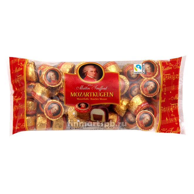 Шоколадные шарики с марципаном Maitre Truffout Mozartkugeln
