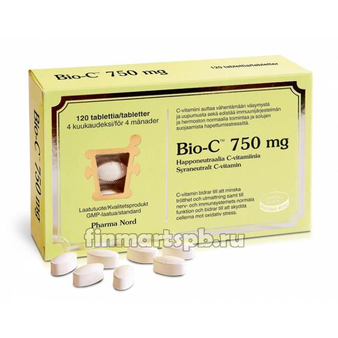 Витамин С Pharma Nord Bio-C 750 mg