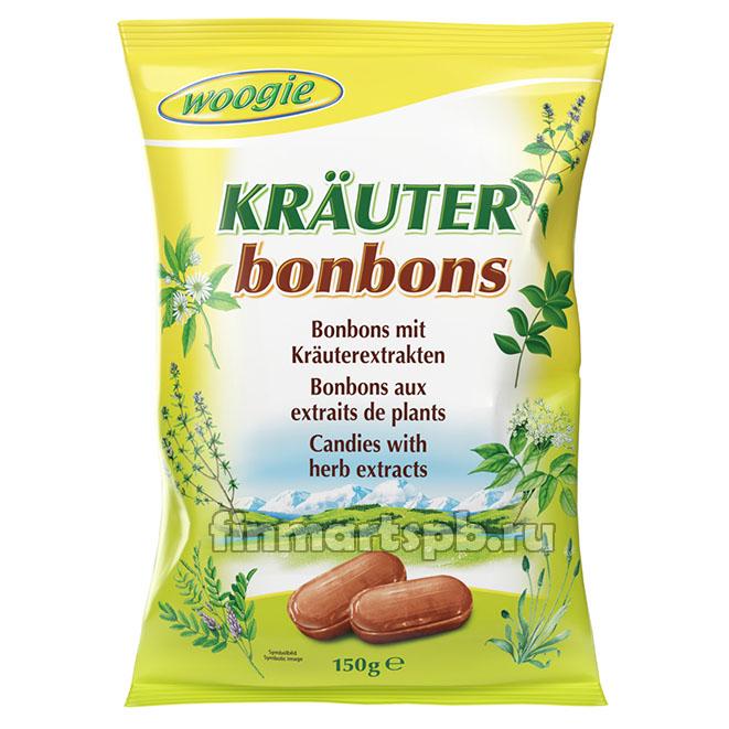 Конфеты с травами Woogie Krauter bonbons
