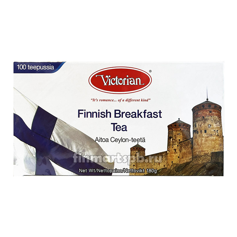 Чёрный чай Victorian Finnnish Breakfast (Финский завтрак)