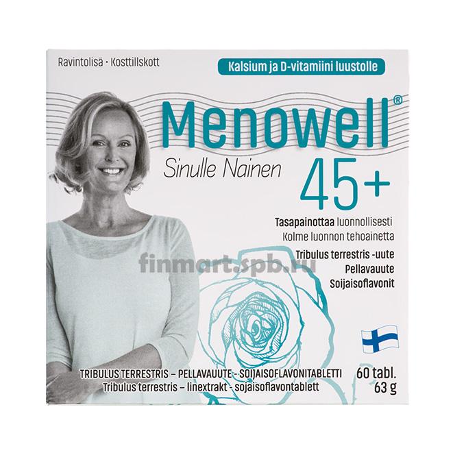 Витамины Menowell 45+ - 60 таб.