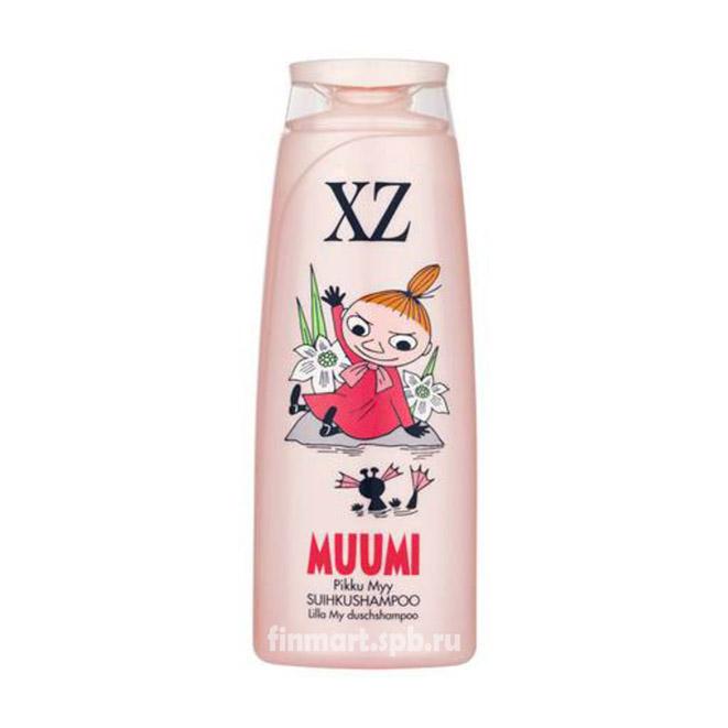 Детский шампунь XZ Muumi (малина) - 200 мл.