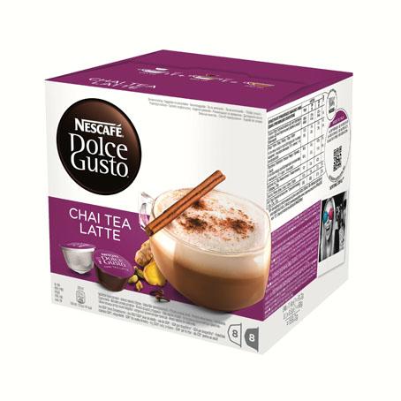 Nescafe Dolche Gusto Chai Tea Latte - 16 шт. (8+8)