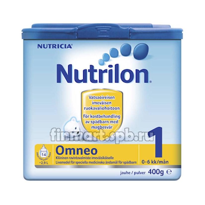 Сухая молочная смесь Nutricia Nutrilon Omneo 1 - 400 гр.