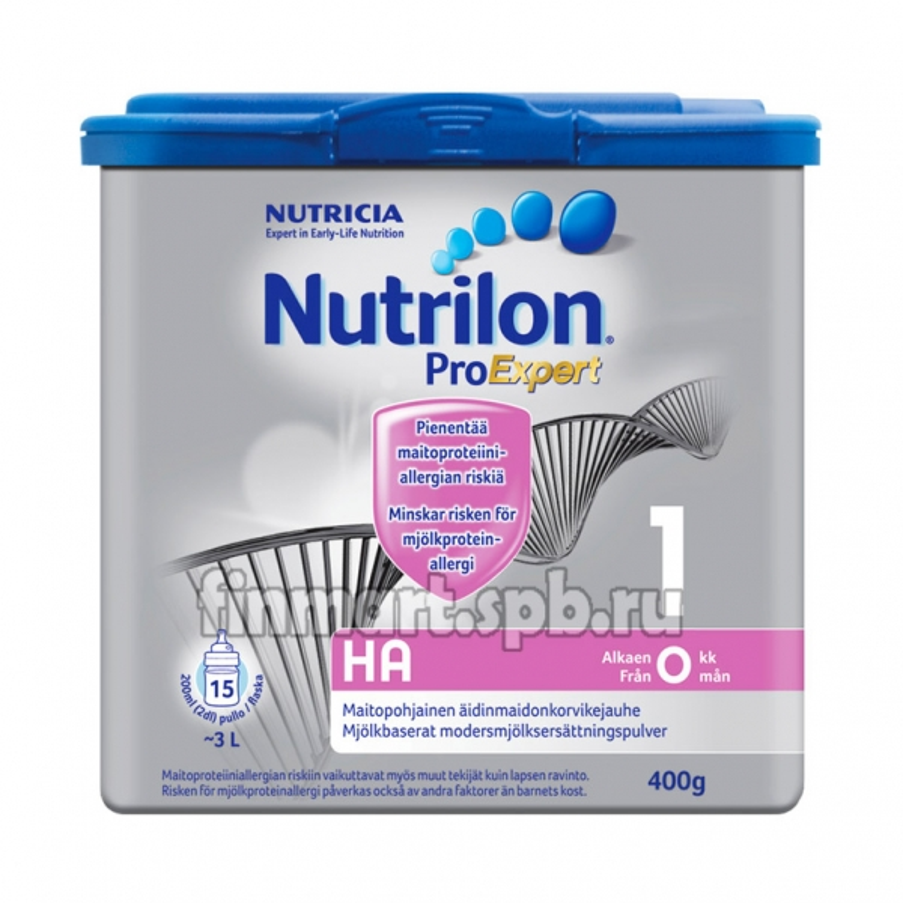 Сухая молочная смесь Nutricia Nutrilon Hypo-Allergenic 1 - 400 гр.