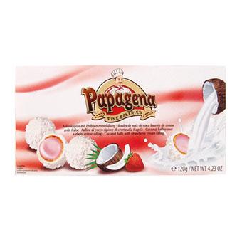 Papagena (кокос с клубникой) -  120 гр.