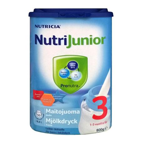 Детское питание Nutricia NutriJunior 3 (Нутриция Нутриджуниор 3) - 800 гр.