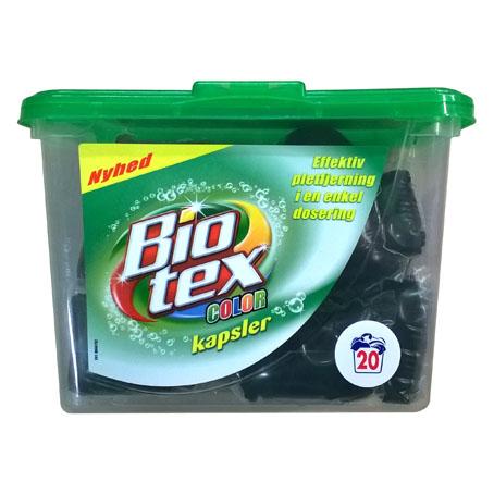 Капсулы для стирки Bio Tex Color - 20 шт.
