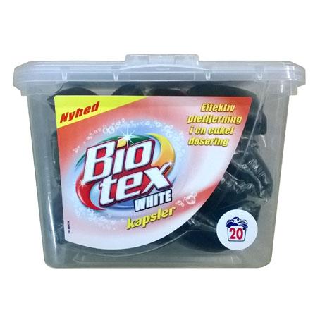 Капсулы для стирки Bio Tex White - 20 шт.