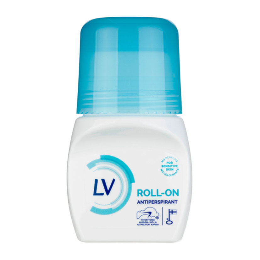 Антиперспирант LV Roll-on antiperspirantti, 60 мл.