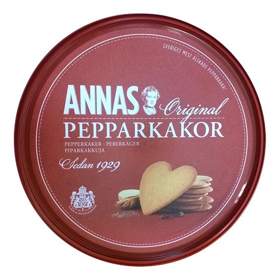 Печенье имбирное ANNAS Original Pepparkakor - 375 гр.